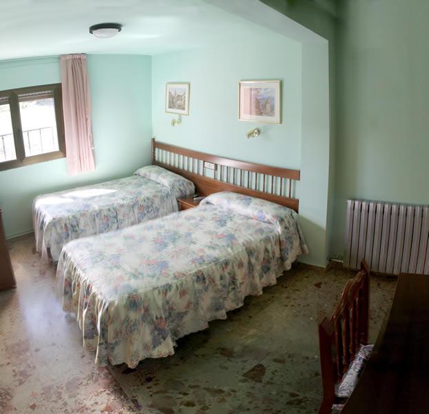 Habitación doble en Guadalaviar