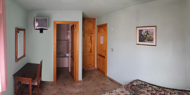Habitación de casa rural