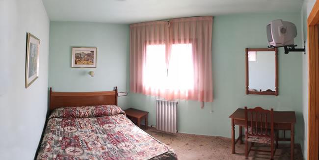 Casa rural con habitación matrimonial